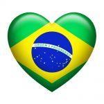 Brazil Insignia Heart Shape