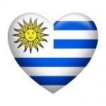 Uruguay Insignia Heart Shape
