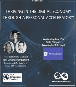 Thriving in the Digital Economy Through a Personal Accelerator