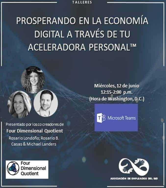 Prosperando en la Economía Digital a través de tu Aceleradora Personal