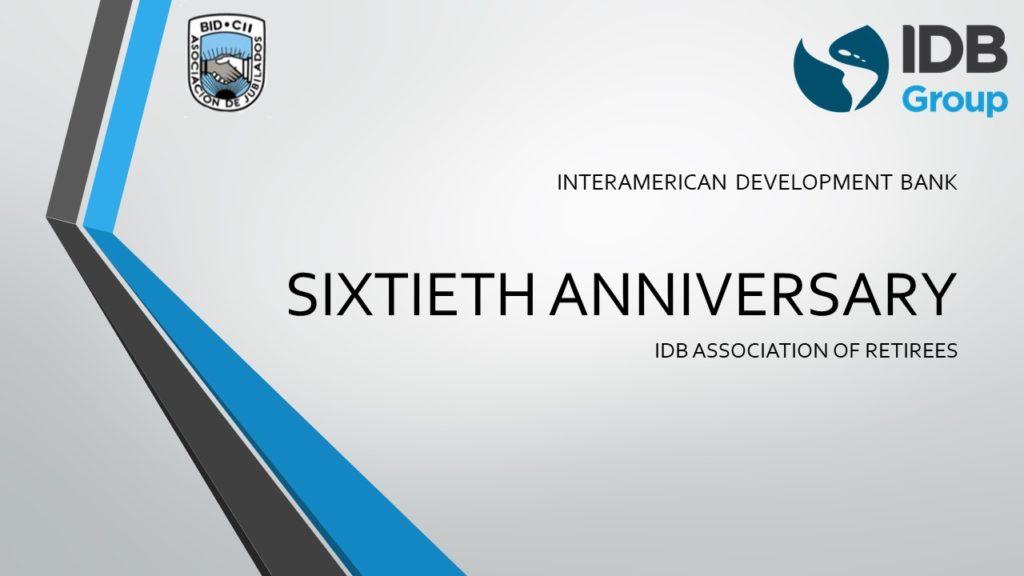 Invitation to Contribute Testimonials for the 60th Anniversary of the IDB