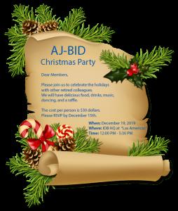 AJBID Christmas Party