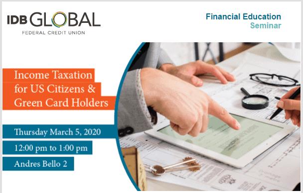 IDB Global Financial Education Seminar