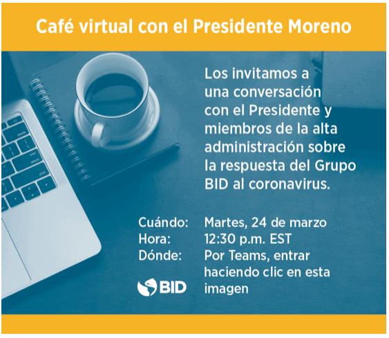 VIDEO del Cafe Virtual con el Presidente Moreno del 24 de marzo