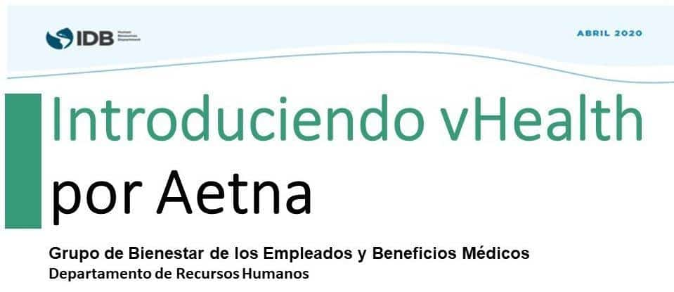 Introduciendo vHealth por Aetna