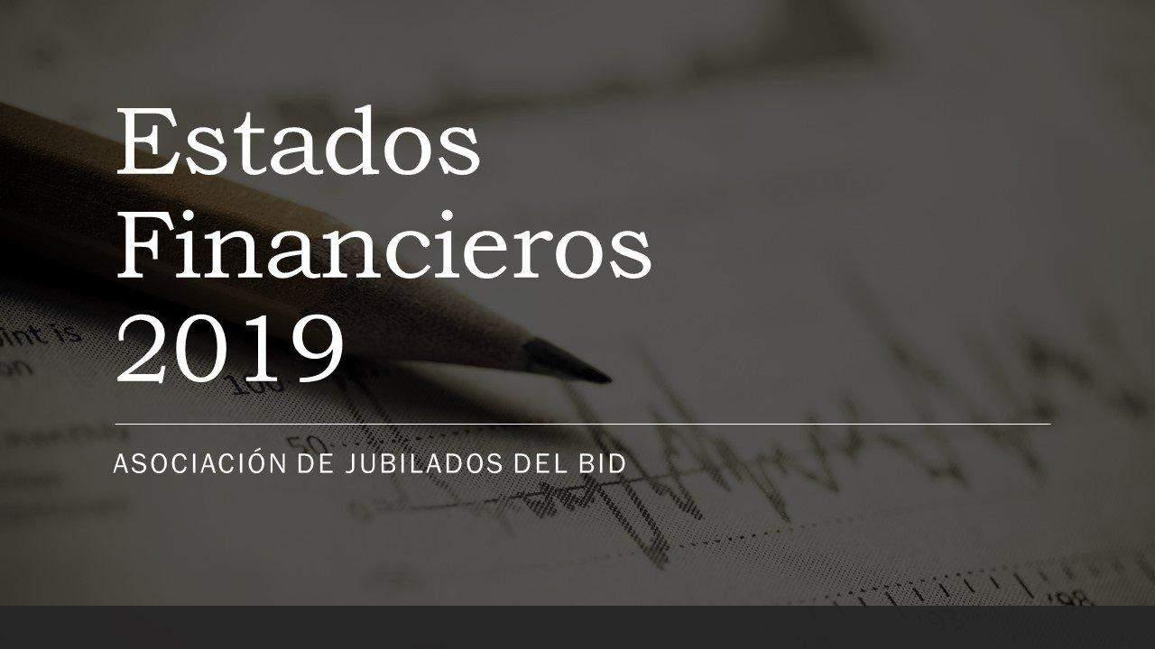 Estados Financieros 2019