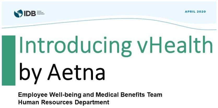 Introducing vHealth by Aetna