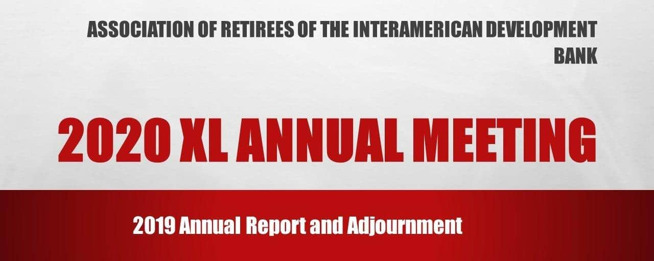 Fortieth Assembly of the IDB Retirees Association