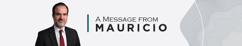 President Mauricio Claver-Carone video message