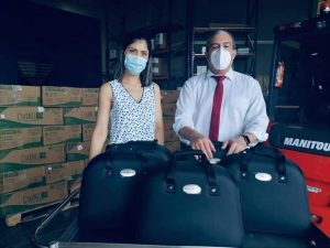 Costa Rica - Donación de Aspiradores Portátiles – Hospital San Carlos