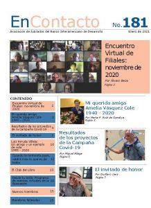 Boletín EnContacto No. 181