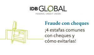Cómo evitar las estafas con cheques falsos