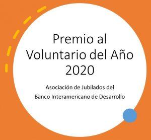 Premio al Voluntario del Año 2020