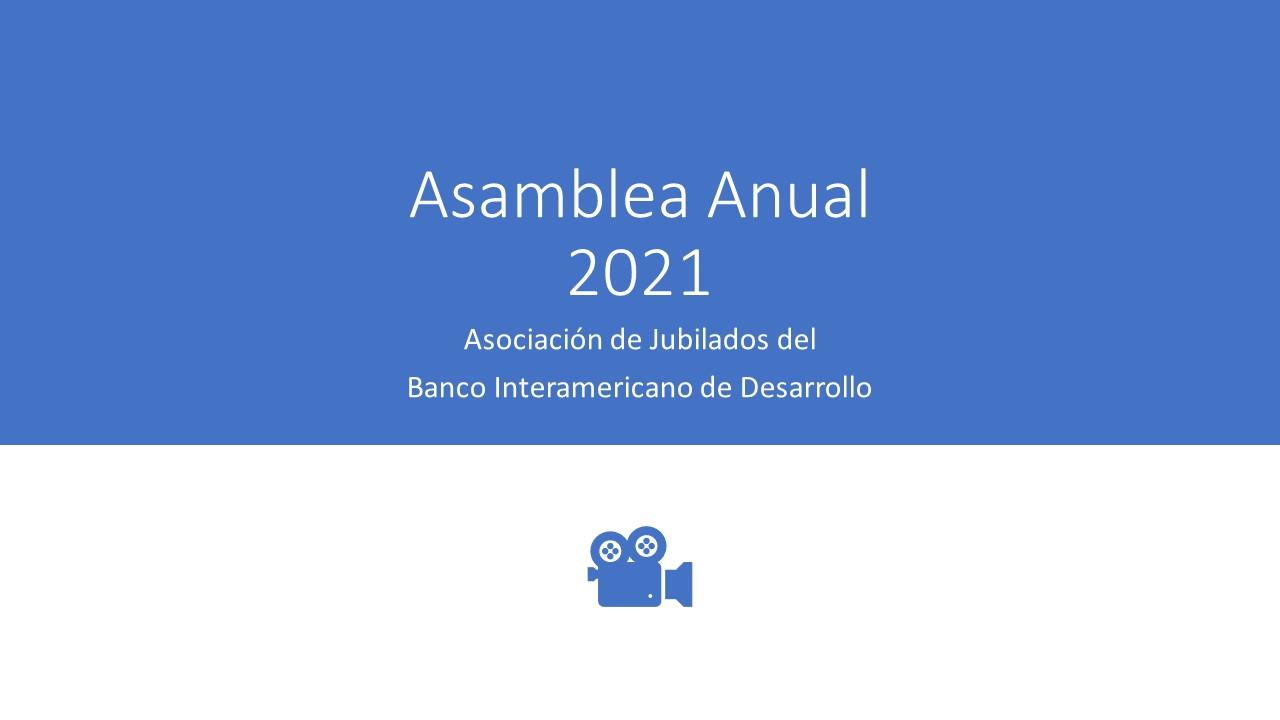 Asamblea Anual 2021