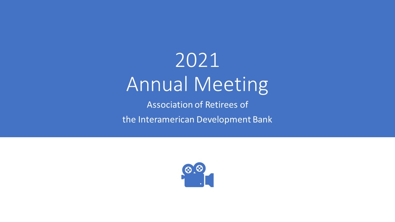 2021 Annual Meeting Videos and Documents