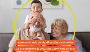 Seminario web sobre Planificación Patrimonial