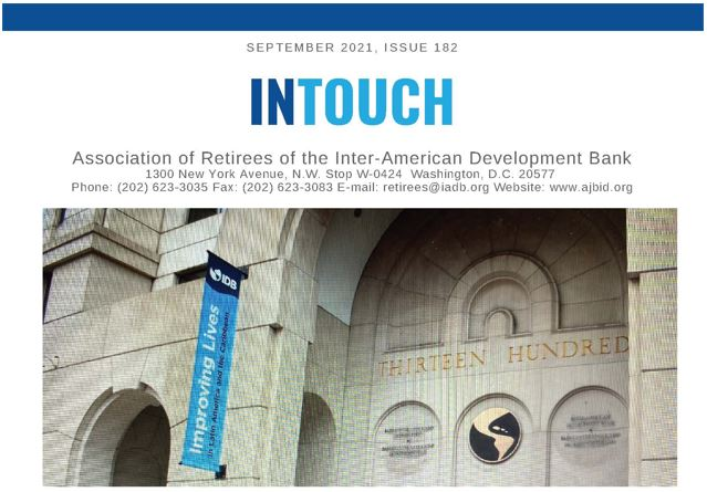 InTouch 182 Newsletter